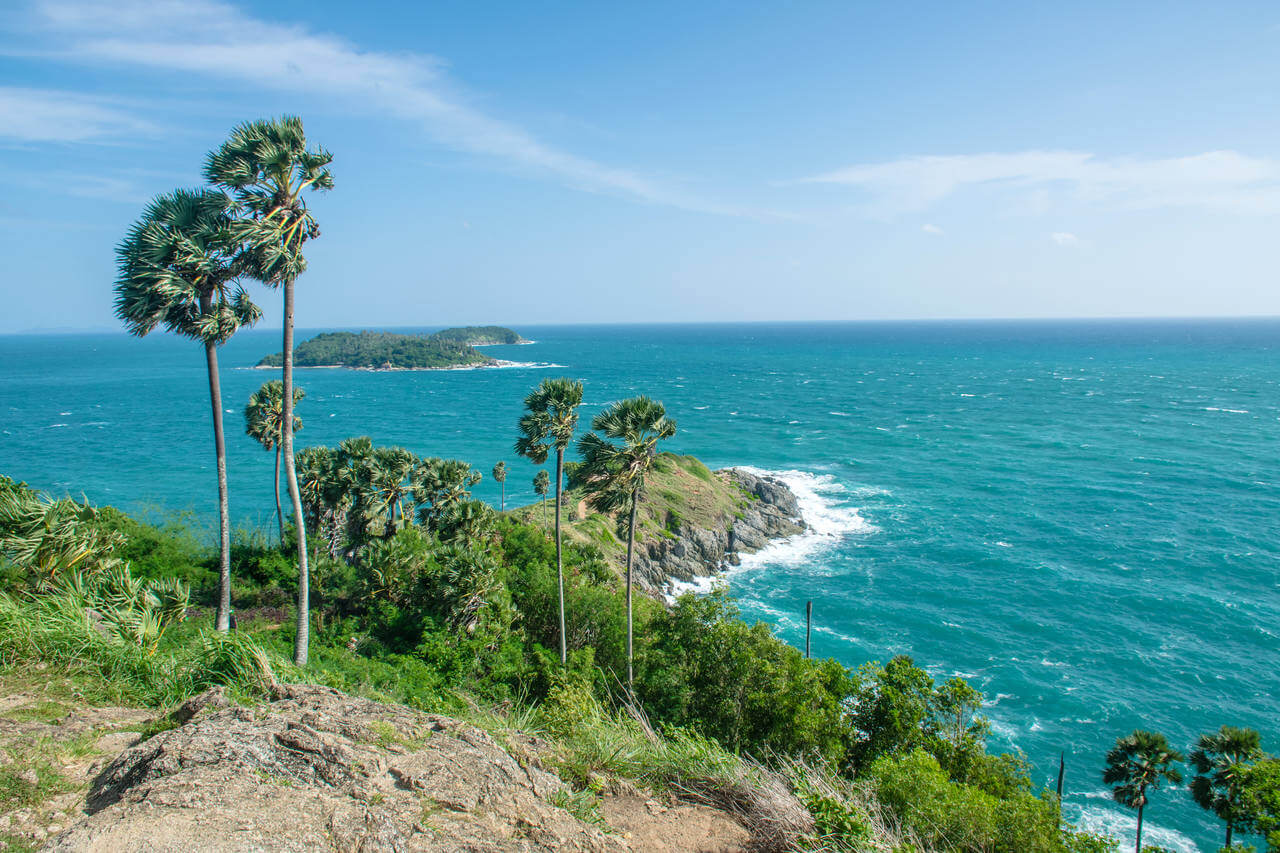 Lehproperty - Tree-on-cliffs-above-the-crystal-clear-sea